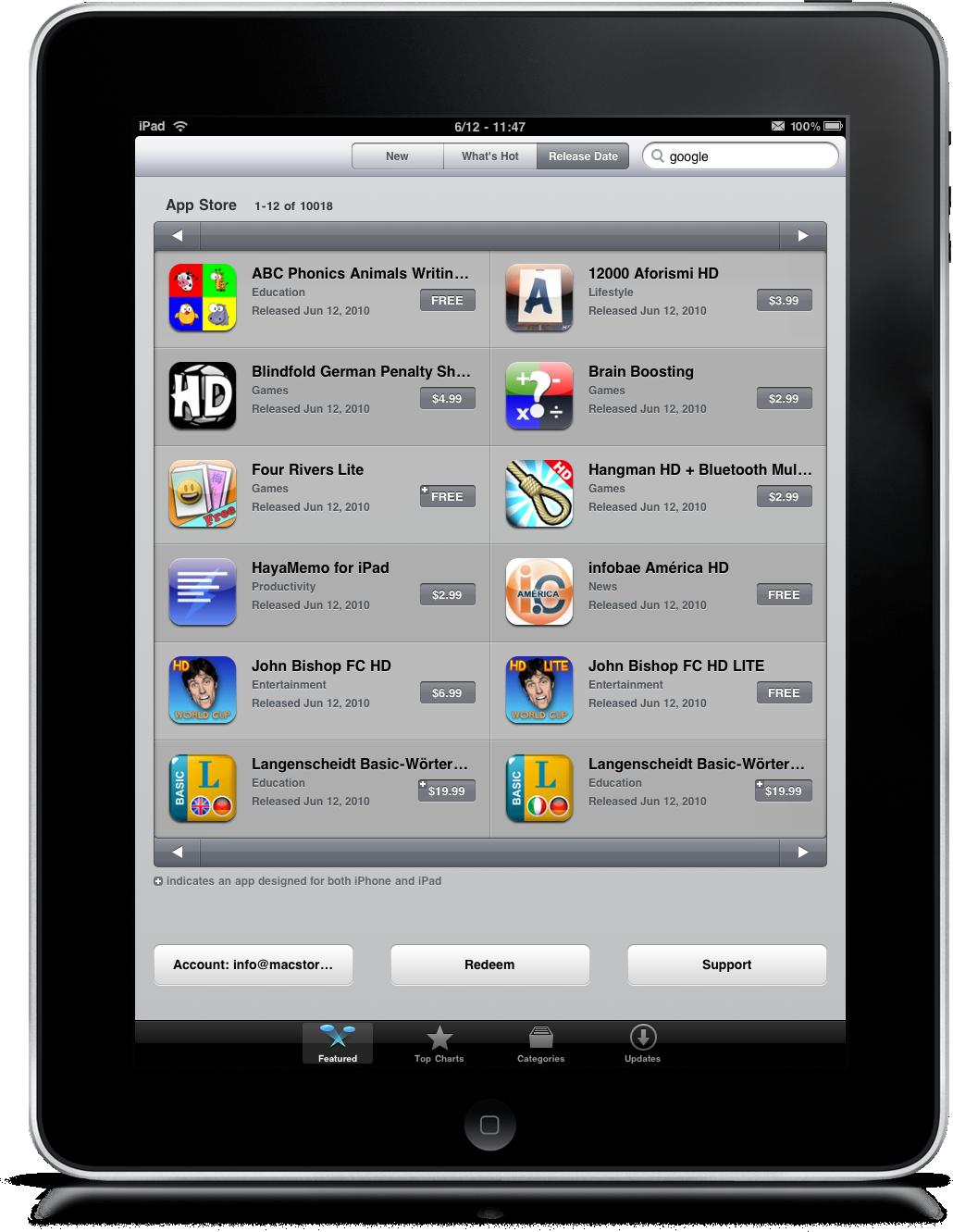 Ipad App Store Download
