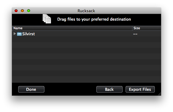Rucksack: A Better Way to Handle Archives on Mac OS X